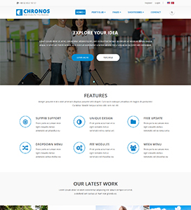 Home Pages Chronos Dnn/Dotnetnuke theme / skin
