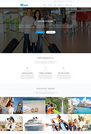 Home Pages Maat Dnn/Dotnetnuke theme / skin