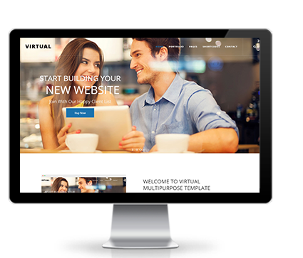 Wide & boxed Layout Virtual Dnn/Dotnetnuke theme / skin
