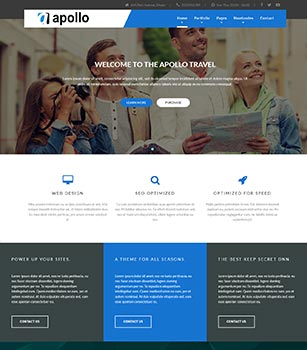 Home Pages Apollo Dnn/Dotnetnuke theme / skin
