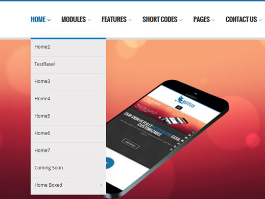 DropDown Menu Notus Dnn/Dotnetnuke theme / skin