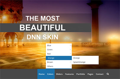 DropDown Menu Deshi Dnn/Dotnetnuke theme / skin
