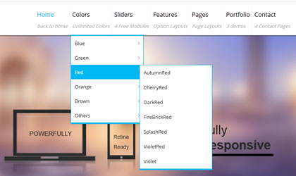 DropDown Menu Eclipse Dnn/Dotnetnuke theme / skin